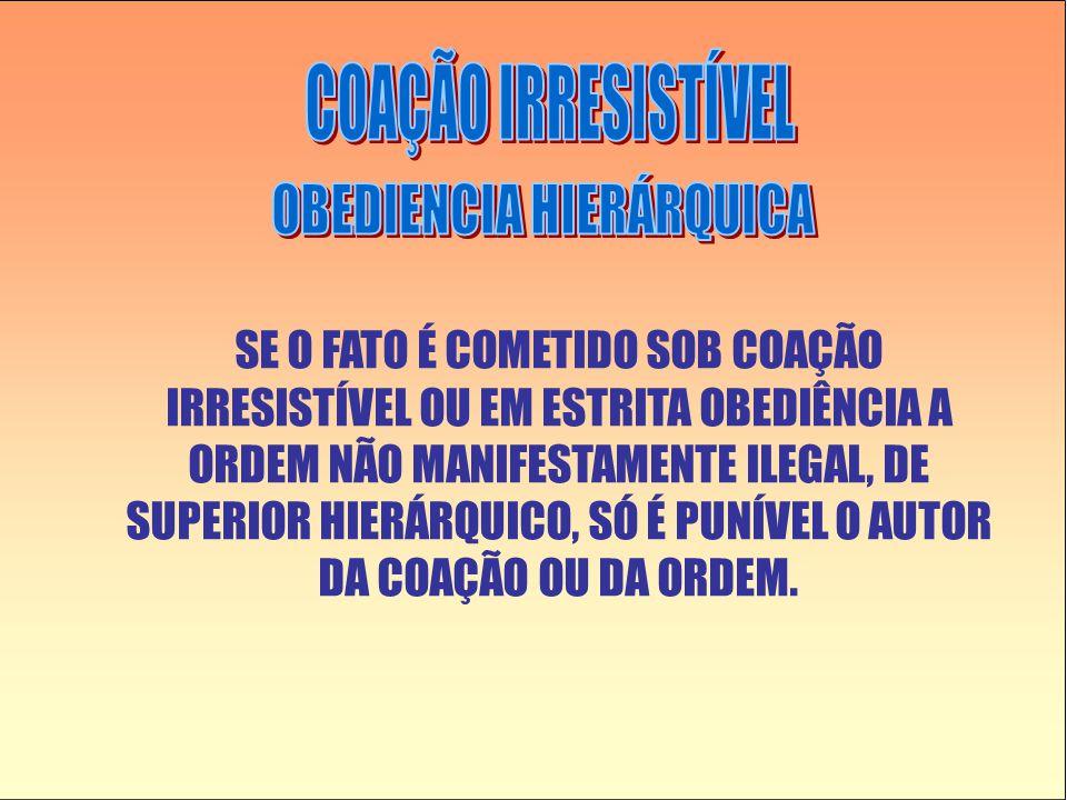 OBEDIENCIA HIERÁRQUICA