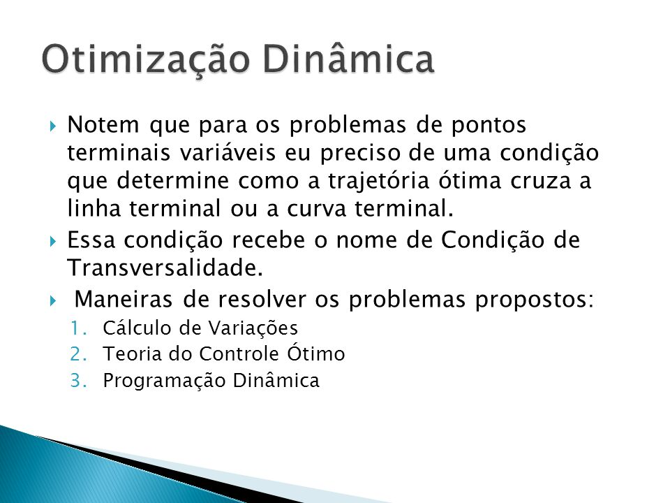 Otimização Dinâmica