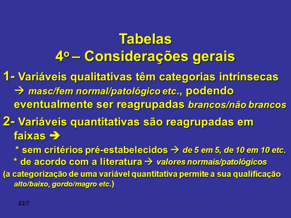4o – Considerações gerais