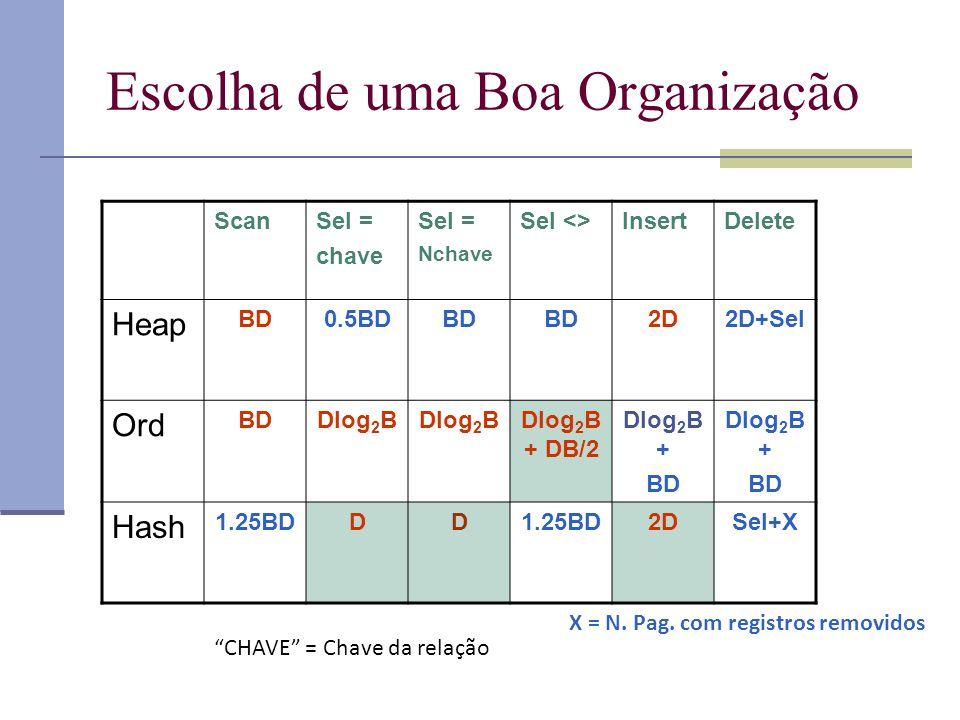 Escolha de uma Boa Organização