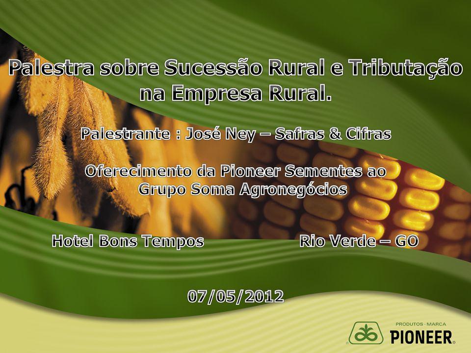 Palestra sobre Sucessão Rural e Tributação