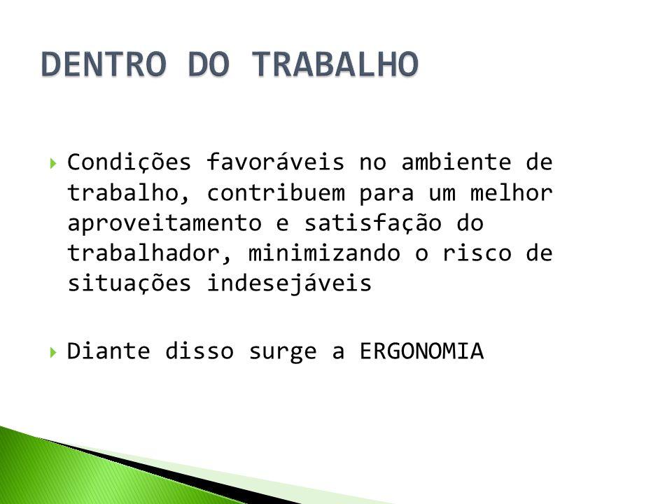DENTRO DO TRABALHO