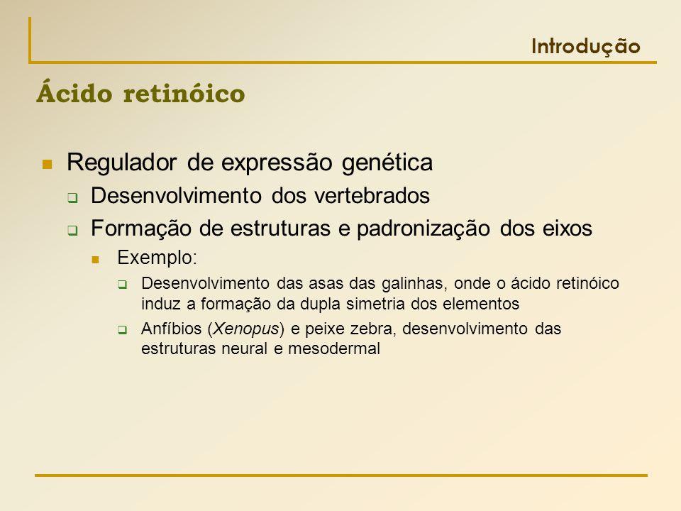 Ácido retinóico Regulador de expressão genética
