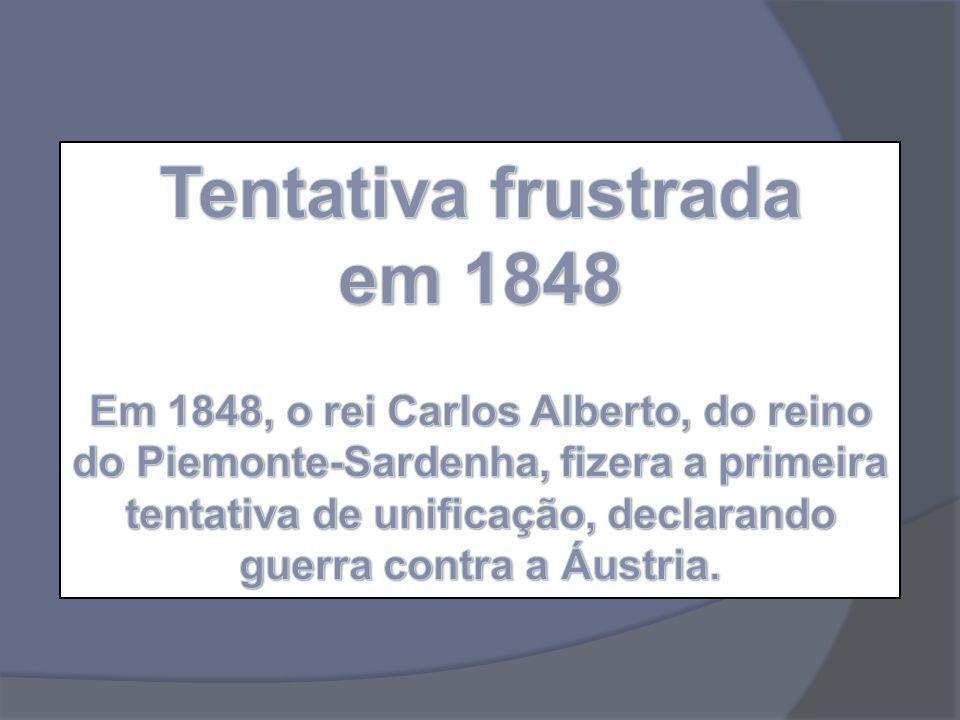 Tentativa frustrada em 1848