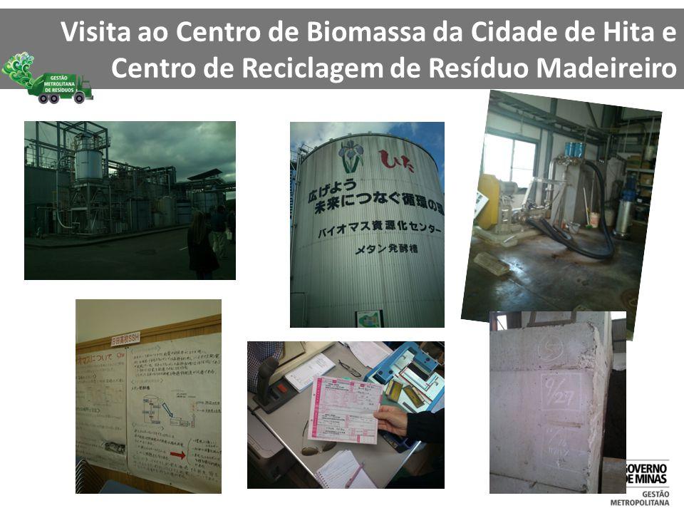 Visita ao Centro de Biomassa da Cidade de Hita e Centro de Reciclagem de Resíduo Madeireiro
