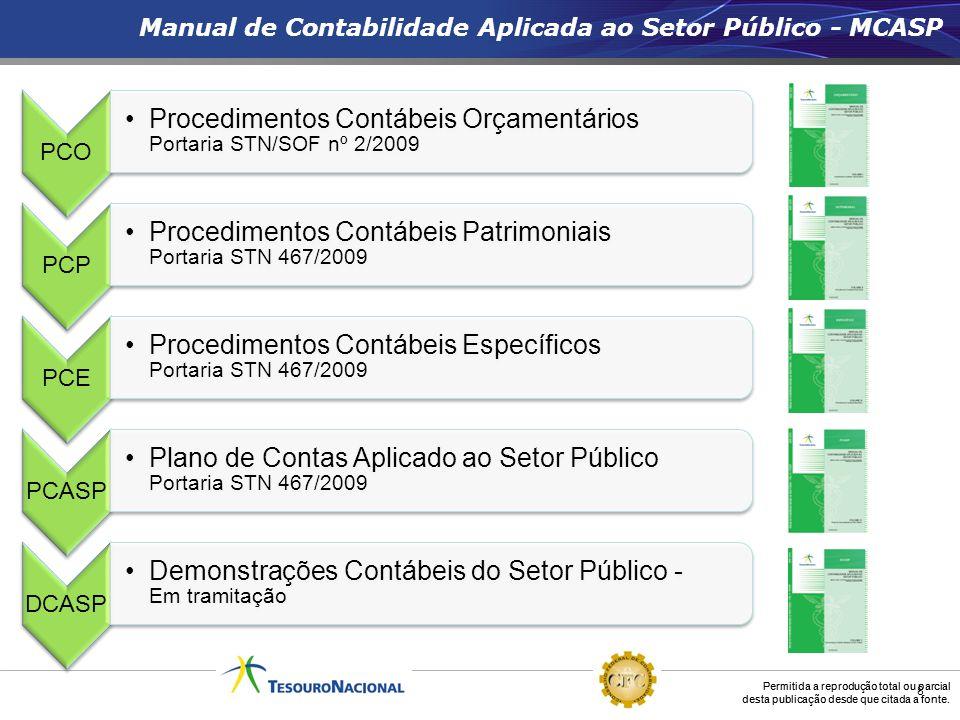 Procedimentos Contábeis Orçamentários Portaria STN/SOF nº 2/2009