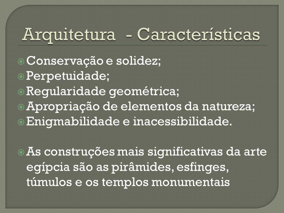 Arquitetura - Características