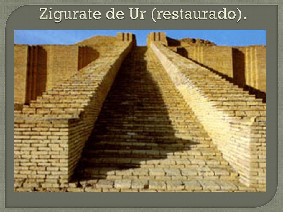 Zigurate de Ur (restaurado).