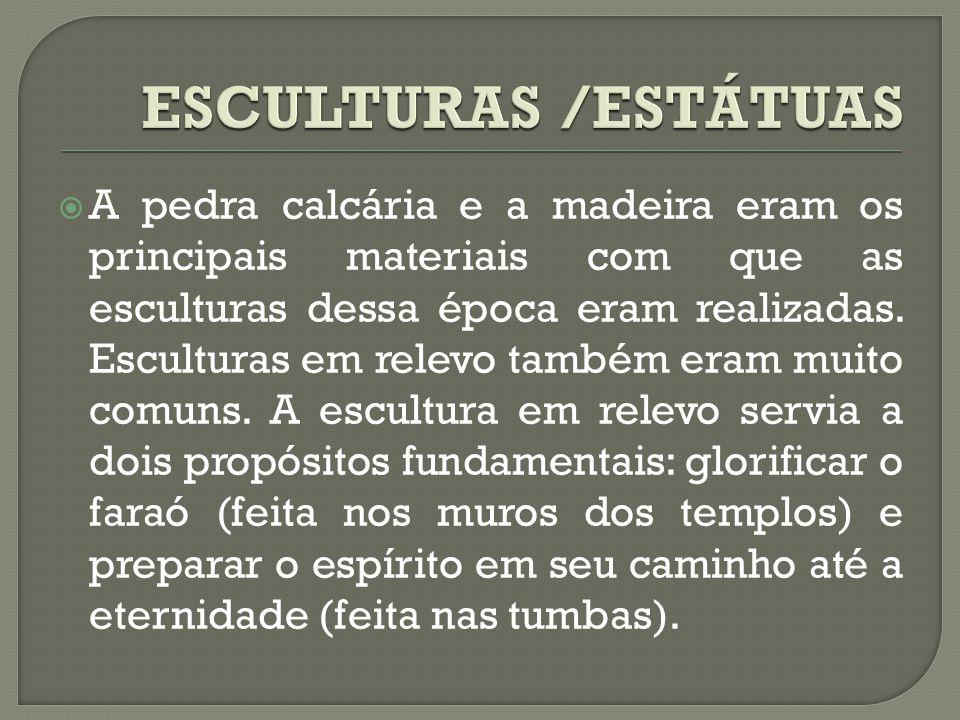 ESCULTURAS /ESTÁTUAS
