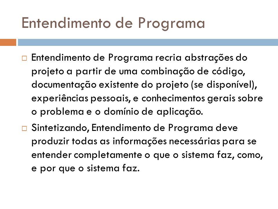 Entendimento de Programa