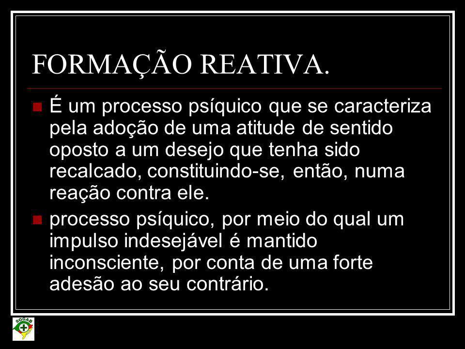FORMAÇÃO REATIVA.