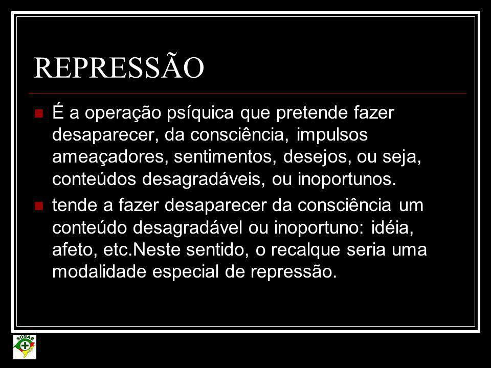 REPRESSÃO