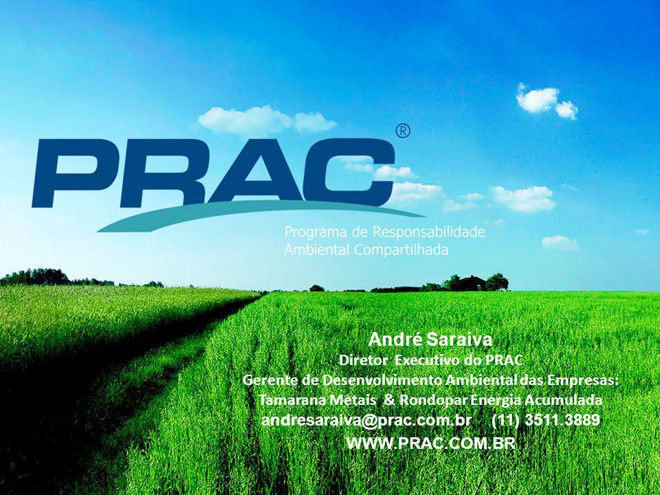 André Saraiva Diretor Executivo do PRAC