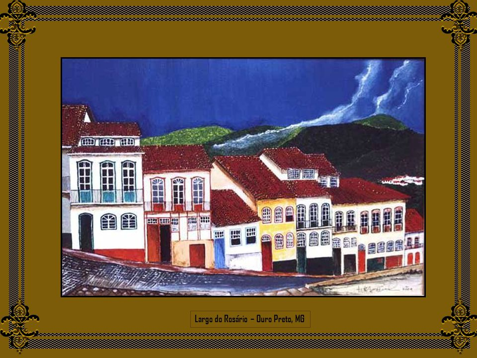 Largo do Rosário – Ouro Preto, MG