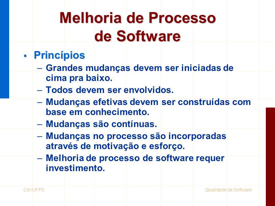 Melhoria de Processo de Software