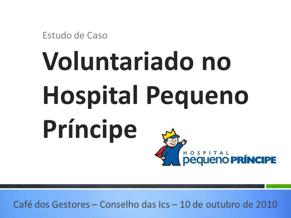 Voluntariado no Hospital Pequeno Príncipe