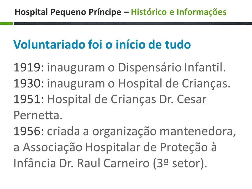 Hospital Pequeno Príncipe – Histórico e Informações