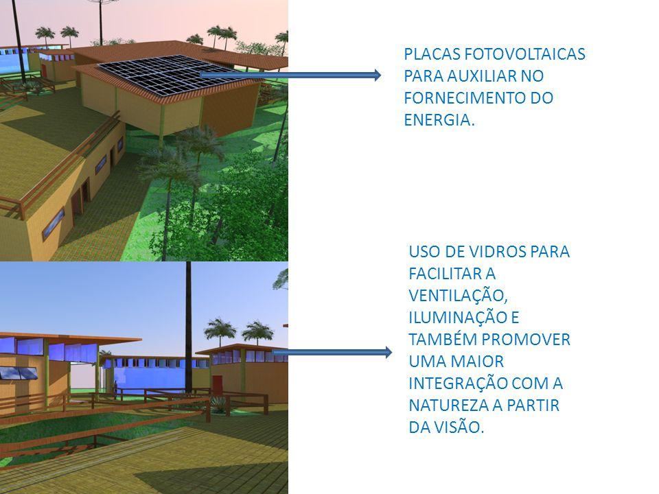 PLACAS FOTOVOLTAICAS PARA AUXILIAR NO FORNECIMENTO DO ENERGIA.