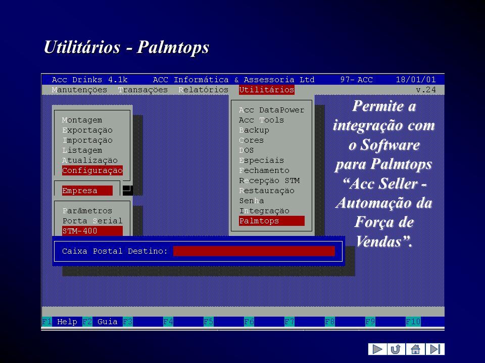 Utilitários - Palmtops