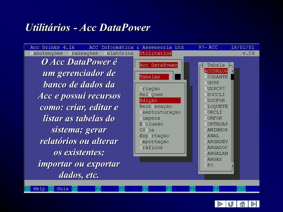 Utilitários - Acc DataPower