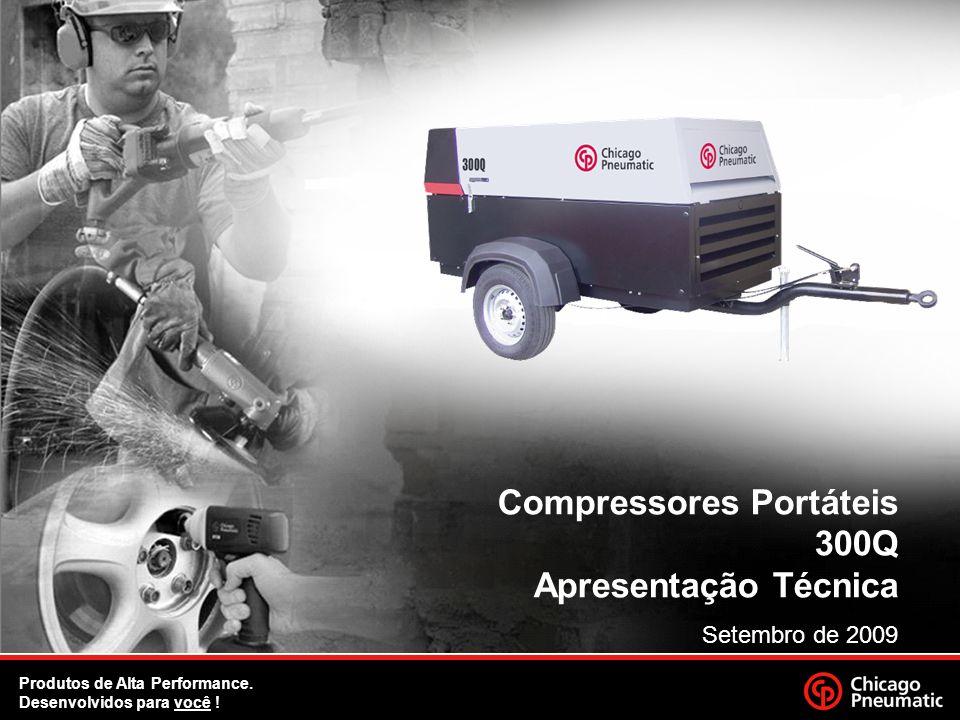 Compressores Portáteis 300Q Apresentação Técnica