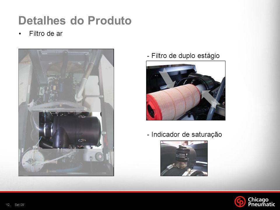 Detalhes do Produto Filtro de ar - Filtro de duplo estágio