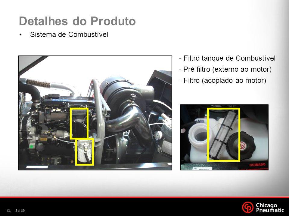 Detalhes do Produto Sistema de Combustível