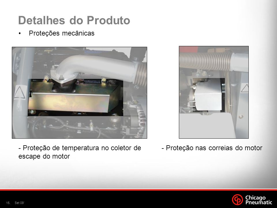 Detalhes do Produto Proteções mecânicas