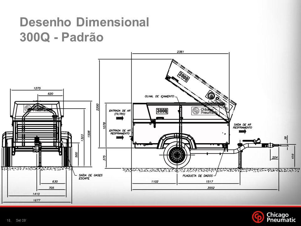 Desenho Dimensional 300Q - Padrão