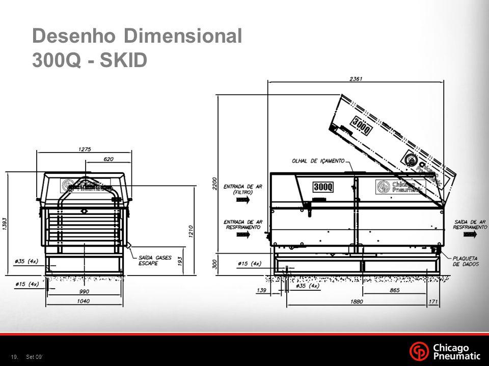 Desenho Dimensional 300Q - SKID