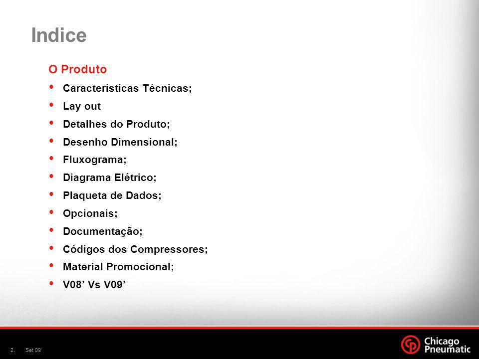 Indice O Produto Características Técnicas; Lay out