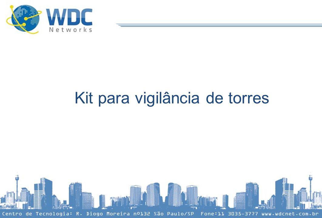 Kit para vigilância de torres