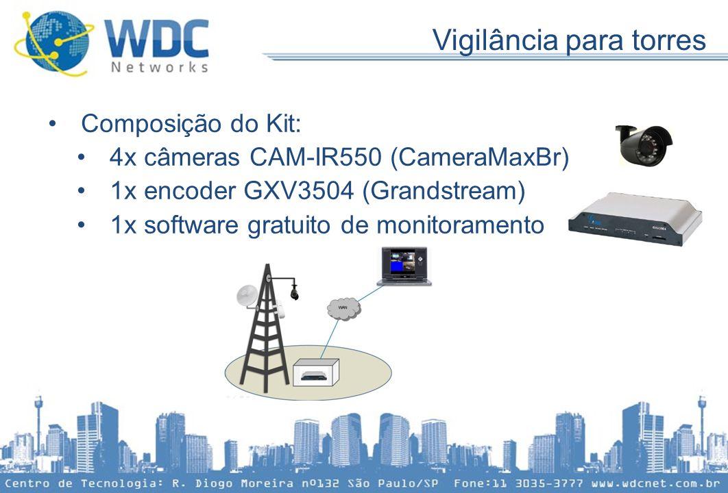 Vigilância para torres