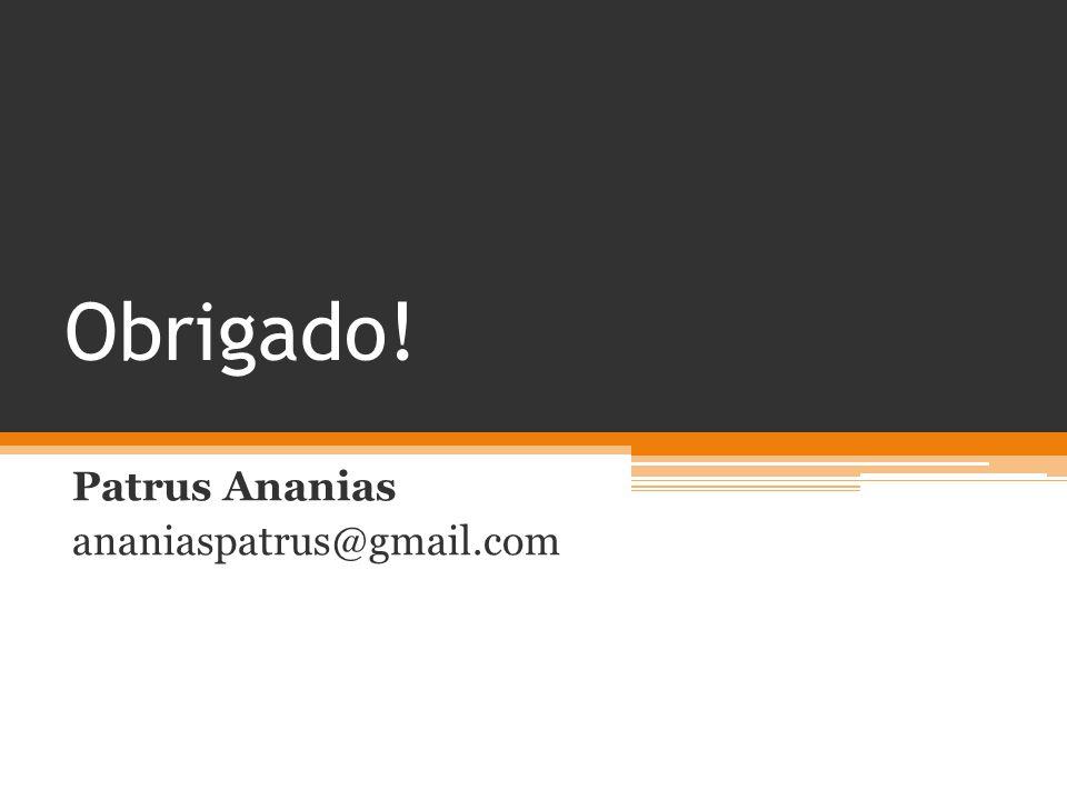 Patrus Ananias ananiaspatrus@gmail.com