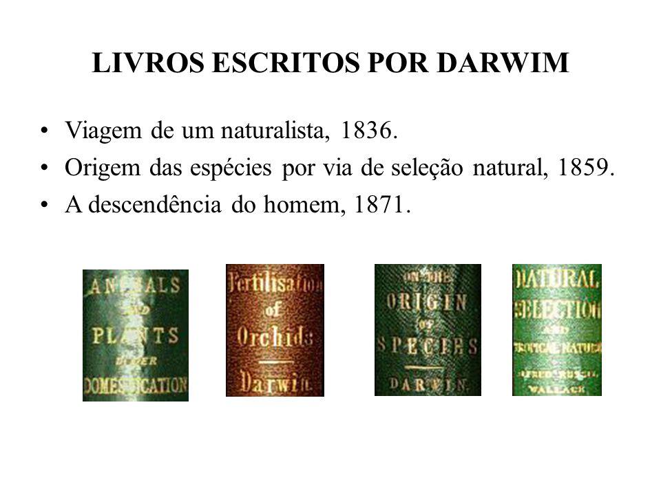 LIVROS ESCRITOS POR DARWIM