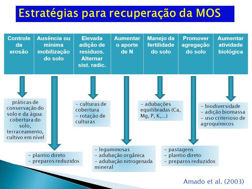 Estratégias para recuperação da MOS