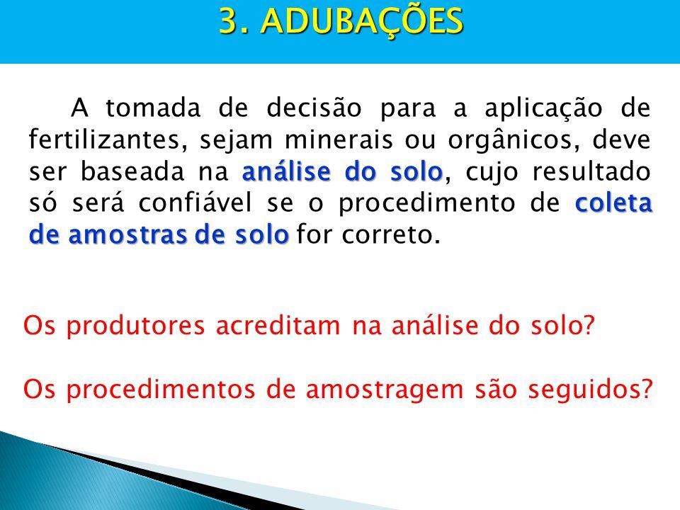 3. ADUBAÇÕES