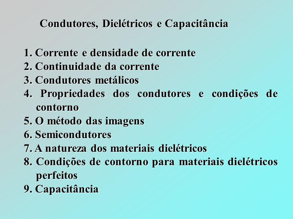 Condutores, Dielétricos e Capacitância