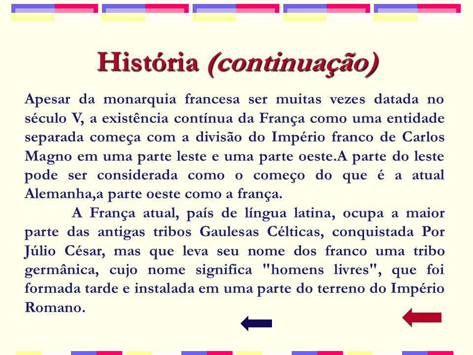 História (continuação)