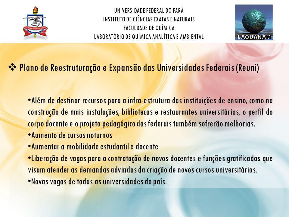 Plano de Reestruturação e Expansão das Universidades Federais (Reuni)