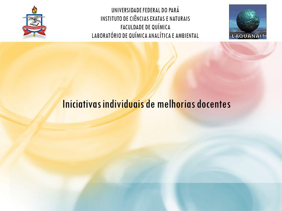 Iniciativas individuais de melhorias docentes
