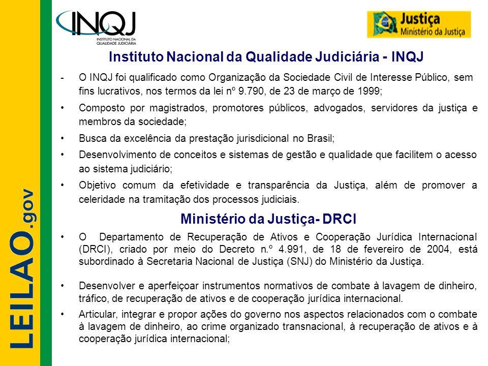 Instituto Nacional da Qualidade Judiciária - INQJ