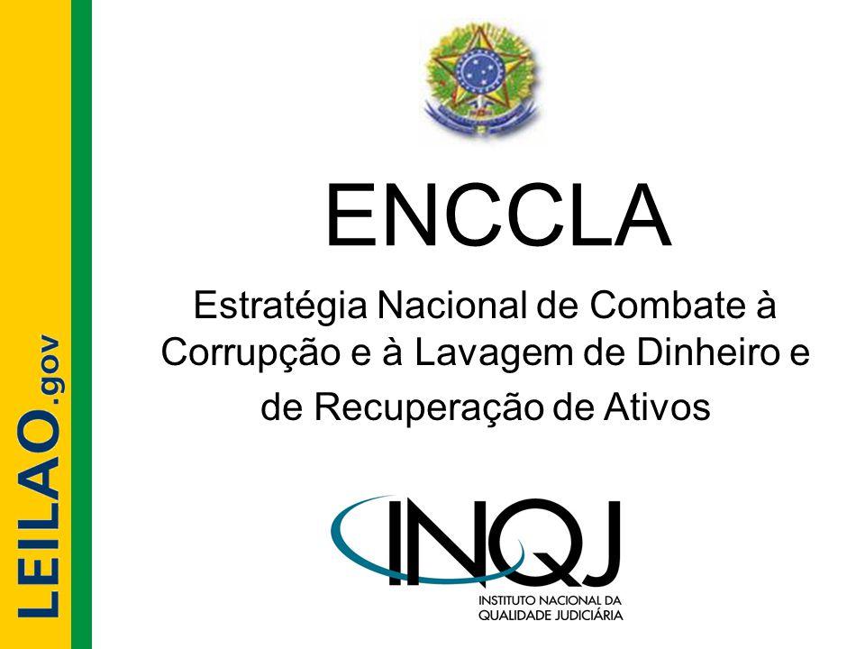 ENCCLA Estratégia Nacional de Combate à Corrupção e à Lavagem de Dinheiro e.
