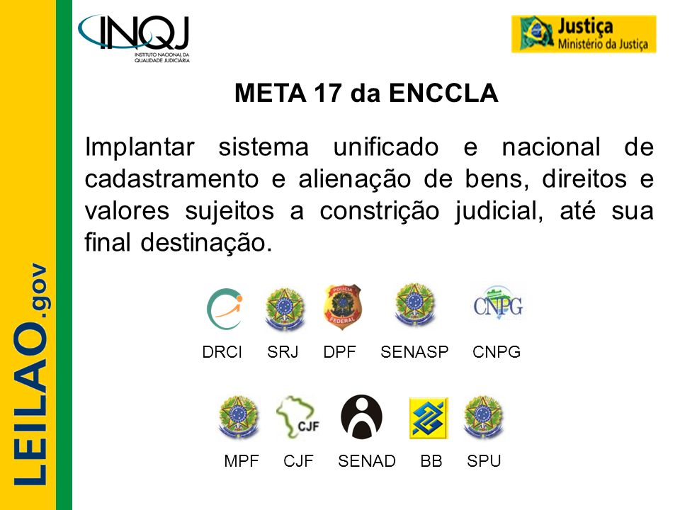 META 17 da ENCCLA