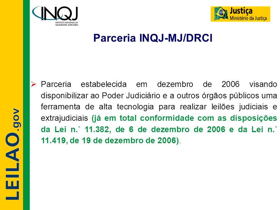 Parceria INQJ-MJ/DRCI