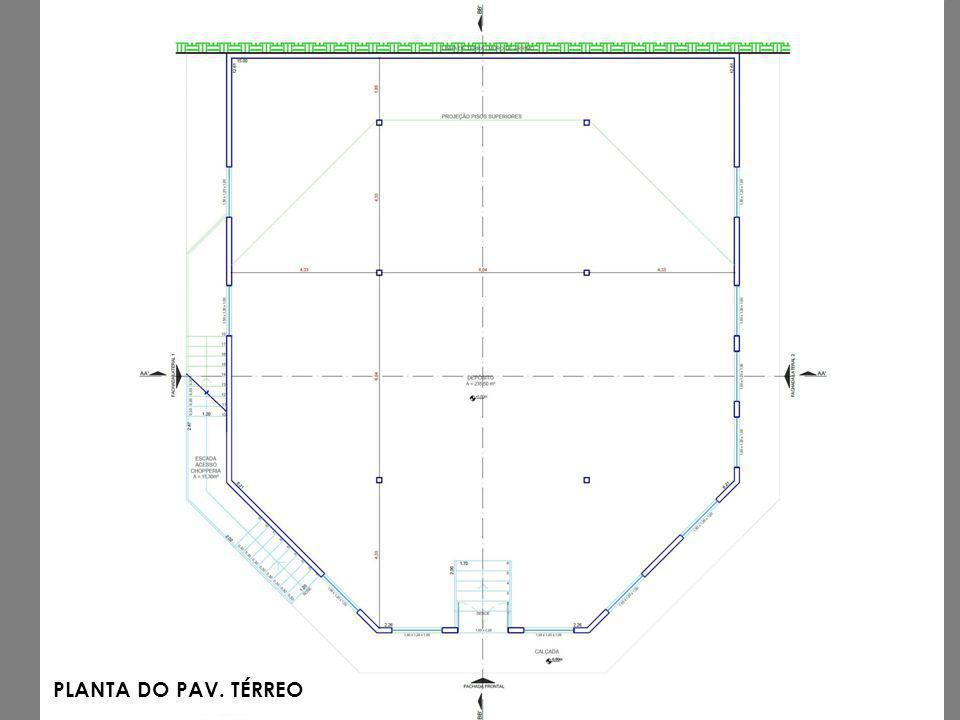 PLANTA DO PAV. TÉRREO