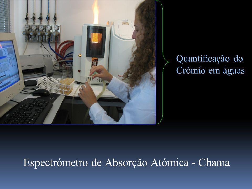 Quantificação do Crómio em águas