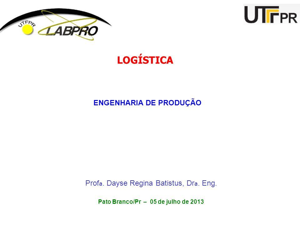 ENGENHARIA DE PRODUÇÃO Pato Branco/Pr – 05 de julho de 2013