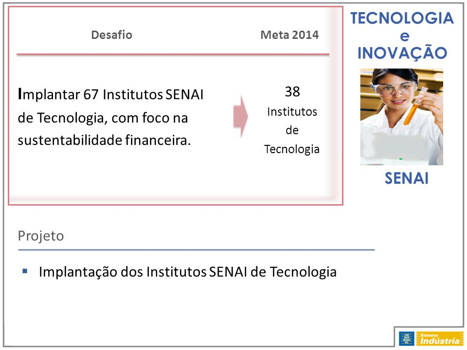 38 Institutos de Tecnologia