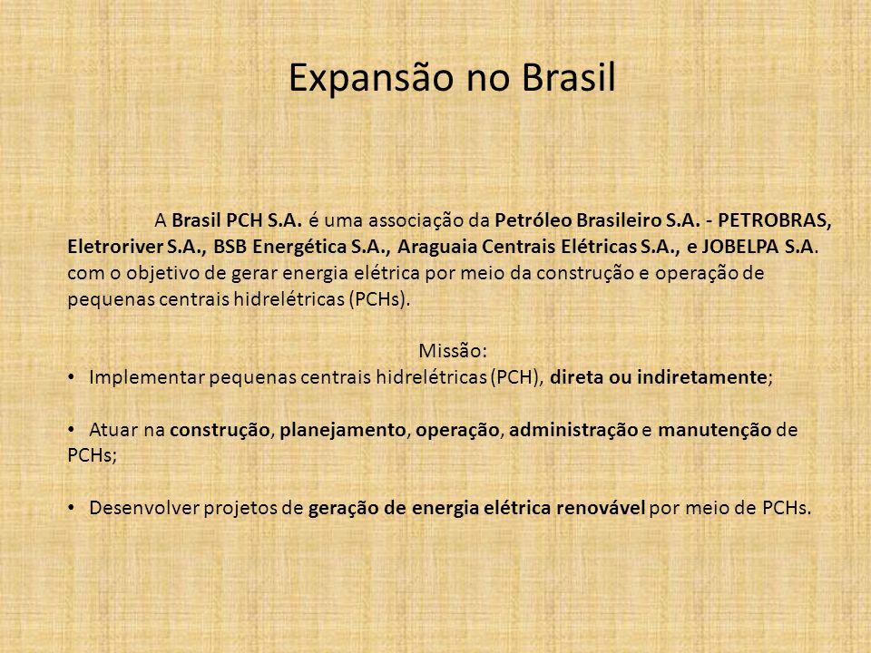Expansão no Brasil